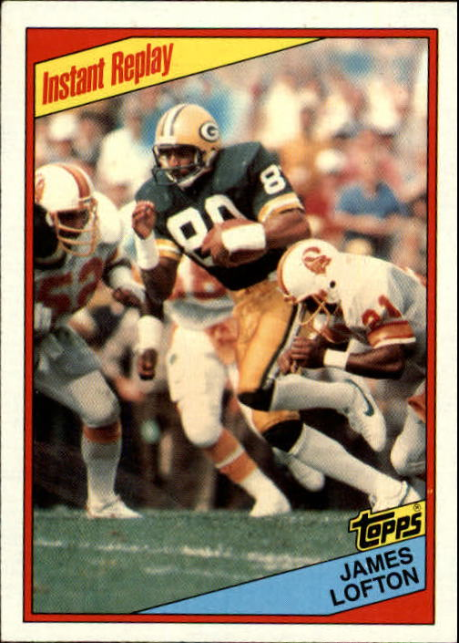1984 Topps #273 James Lofton IR