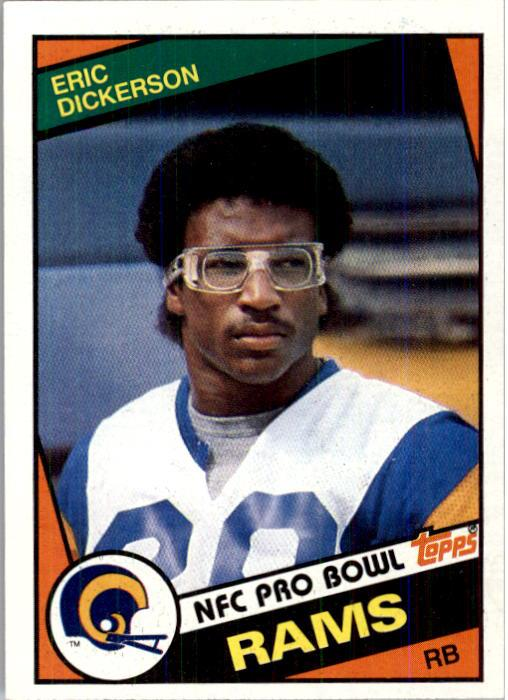 1984 Topps #280 Eric Dickerson RC