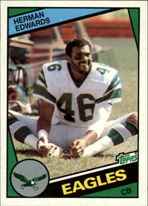 1984 Topps #327 Herman Edwards