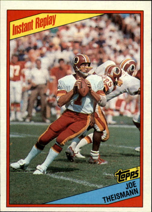 1984 Topps #391 Joe Theismann IR