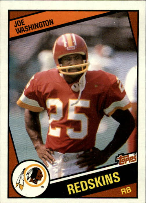 1984 Topps #393 Joe Washington