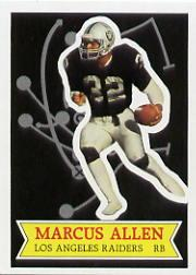1984 Topps Glossy Send-In #1 Marcus Allen