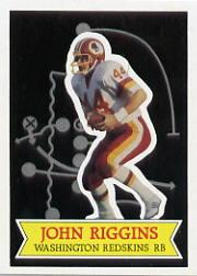 1984 Topps Glossy Send-In #2 John Riggins
