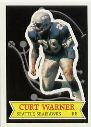 1984 Topps Glossy Send-In #6 Curt Warner