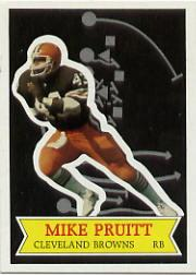 1984 Topps Glossy Send-In #8 Mike Pruitt