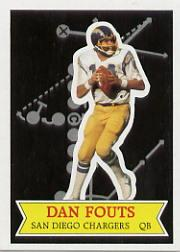 1984 Topps Glossy Send-In #10 Dan Fouts