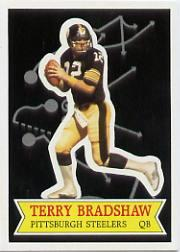 1984 Topps Glossy Send-In #11 Terry Bradshaw
