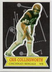 1984 Topps Glossy Send-In #19 Cris Collinsworth
