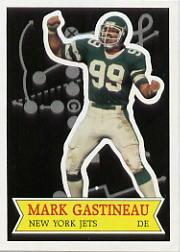 1984 Topps Glossy Send-In #21 Mark Gastineau