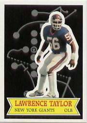 1984 Topps Glossy Send-In #22 Lawrence Taylor