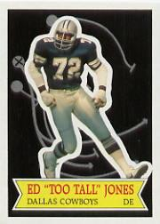 1984 Topps Glossy Send-In #24 Ed Too Tall Jones