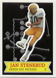 1984 Topps Glossy Send-In #27 Jan Stenerud