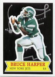 1984 Topps Glossy Send-In #28 Bruce Harper