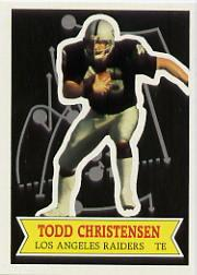 1984 Topps Glossy Send-In #29 Todd Christensen