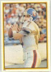 1984 Topps Stickers #179 John Elway
