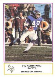 1984 Vikings Police #2 Keith Nord
