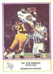 1984 Vikings Police #3 Joe Senser