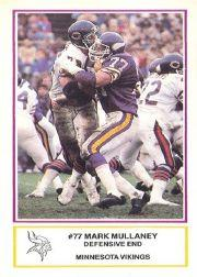 1984 Vikings Police #7 Mark Mullaney