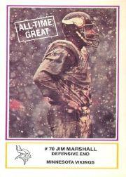 1984 Vikings Police #18 Jim Marshall