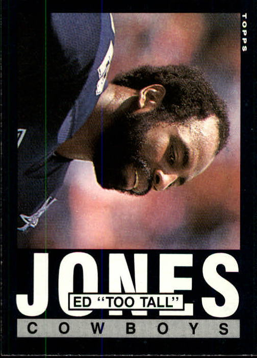 1985 Topps #46 Ed Too Tall Jones