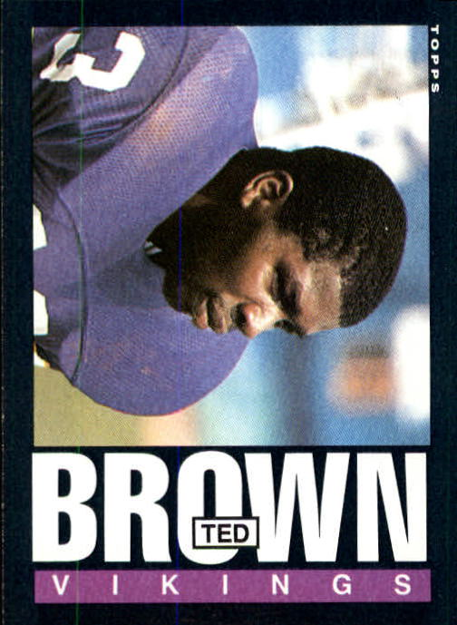 1985 Topps #91 Ted Brown