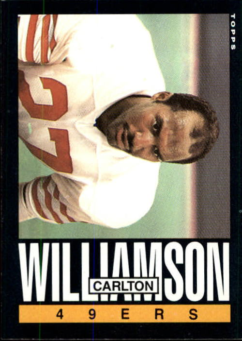 1985 Topps #165 Carlton Williamson