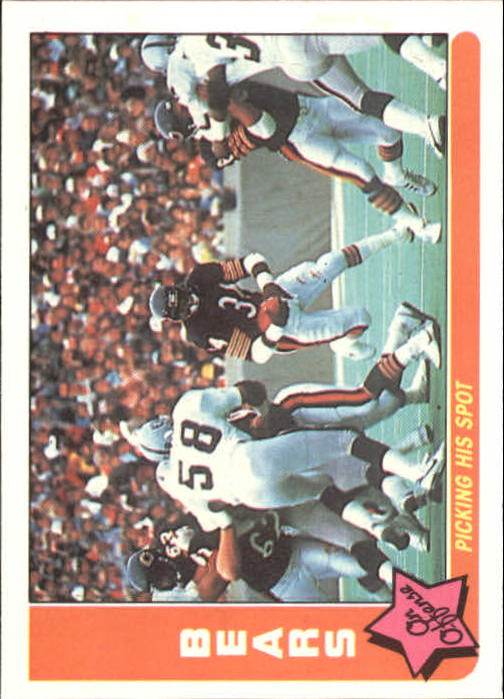 1985 Fleer Team Action #7 Chicago Bears