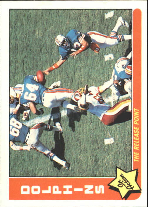 1985 Fleer Team Action #45 Miami Dolphins