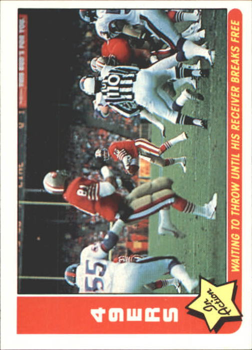 1985 Fleer Team Action #75 San Francisco 49ers