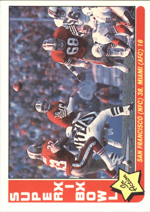 1985 Fleer Team Action #86 Super Bowl XIX