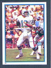 1985 Topps Coming Soon Stickers #69 Dan Marino