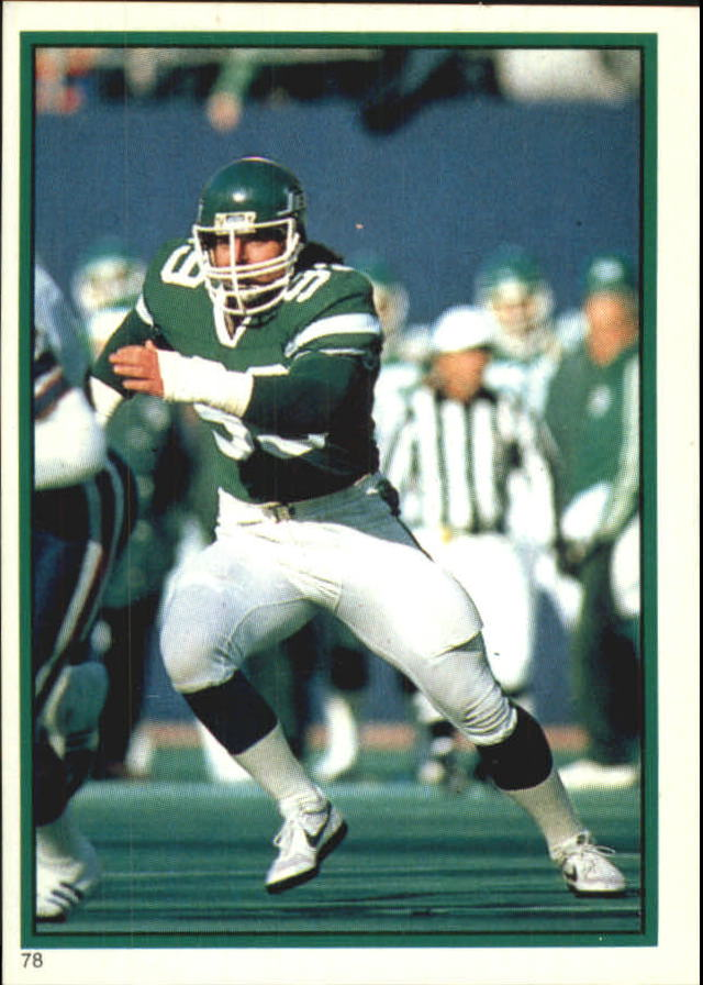1985 Topps Coming Soon Stickers #78 Mark Gastineau