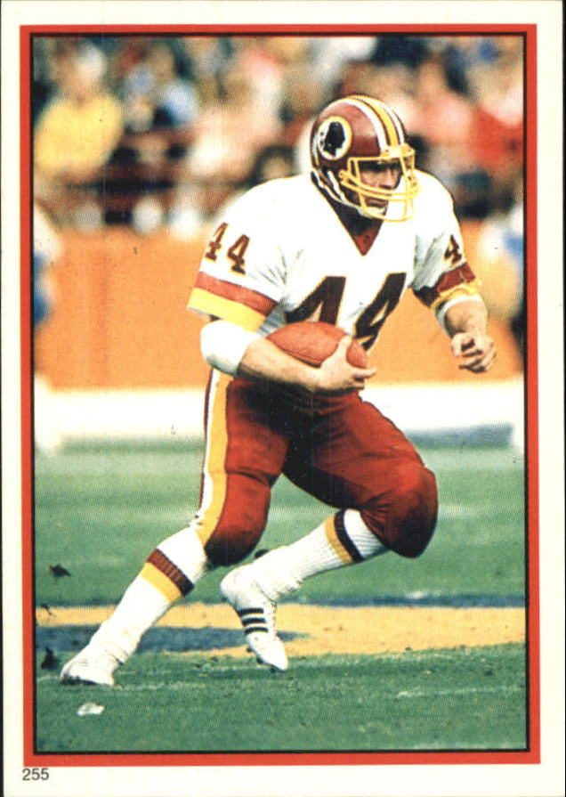 1985 Topps Coming Soon Stickers #255 John Riggins