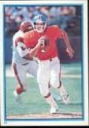 1985 Topps Stickers #24 John Elway