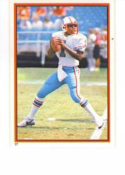 1985 Topps Stickers #87 Warren Moon