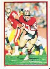 1985 Topps Stickers #214 Dwight Clark