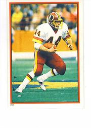 1985 Topps Stickers #255 John Riggins