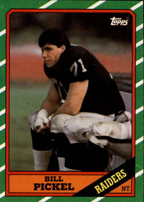 1986 Topps #68 Bill Pickel