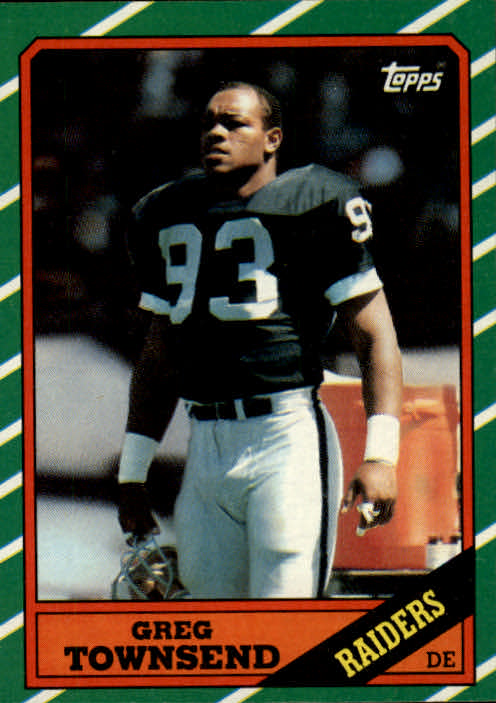 1986 Topps #70 Greg Townsend RC