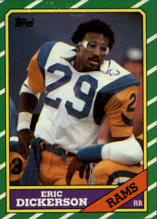 1986 Topps #78 Eric Dickerson