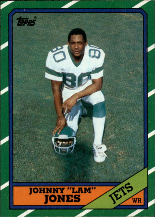 1986 Topps #98 Johnny Lam Jones