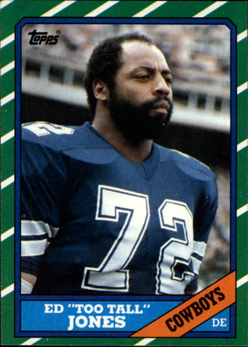 1986 Topps #132 Ed Too Tall Jones