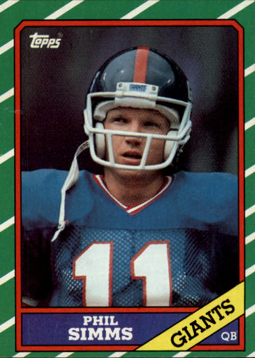 1986 Topps #138 Phil Simms