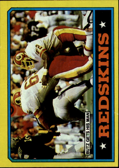 1986 Topps #170 Redskins TL/(Dave Butz Gets His Man)