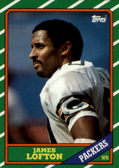 1986 Topps #218 James Lofton