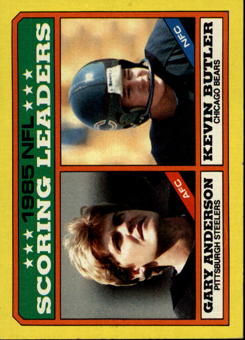 1986 Topps #228 Scoring Leaders
