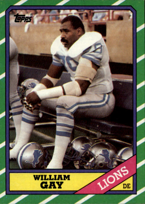 1986 Topps #251 William Gay