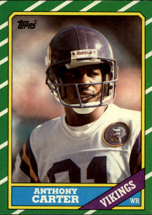 1986 Topps #297 Anthony Carter RC