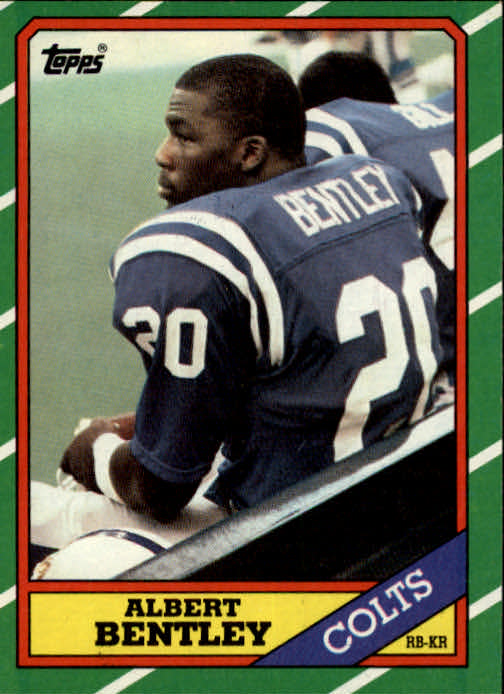1986 Topps #317 Albert Bentley RC