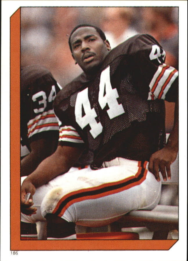 1986 Topps Stickers #186 Earnest Byner